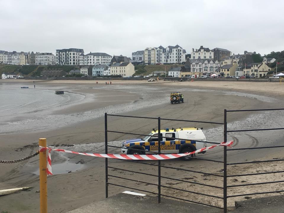 Port Erin beach closure