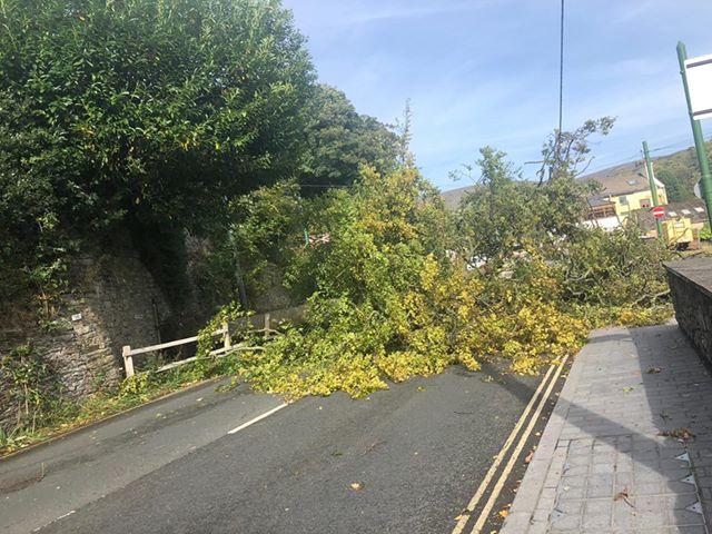 Weather wreaks havoc across Island