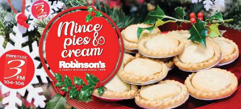 Mince Pies & Cream