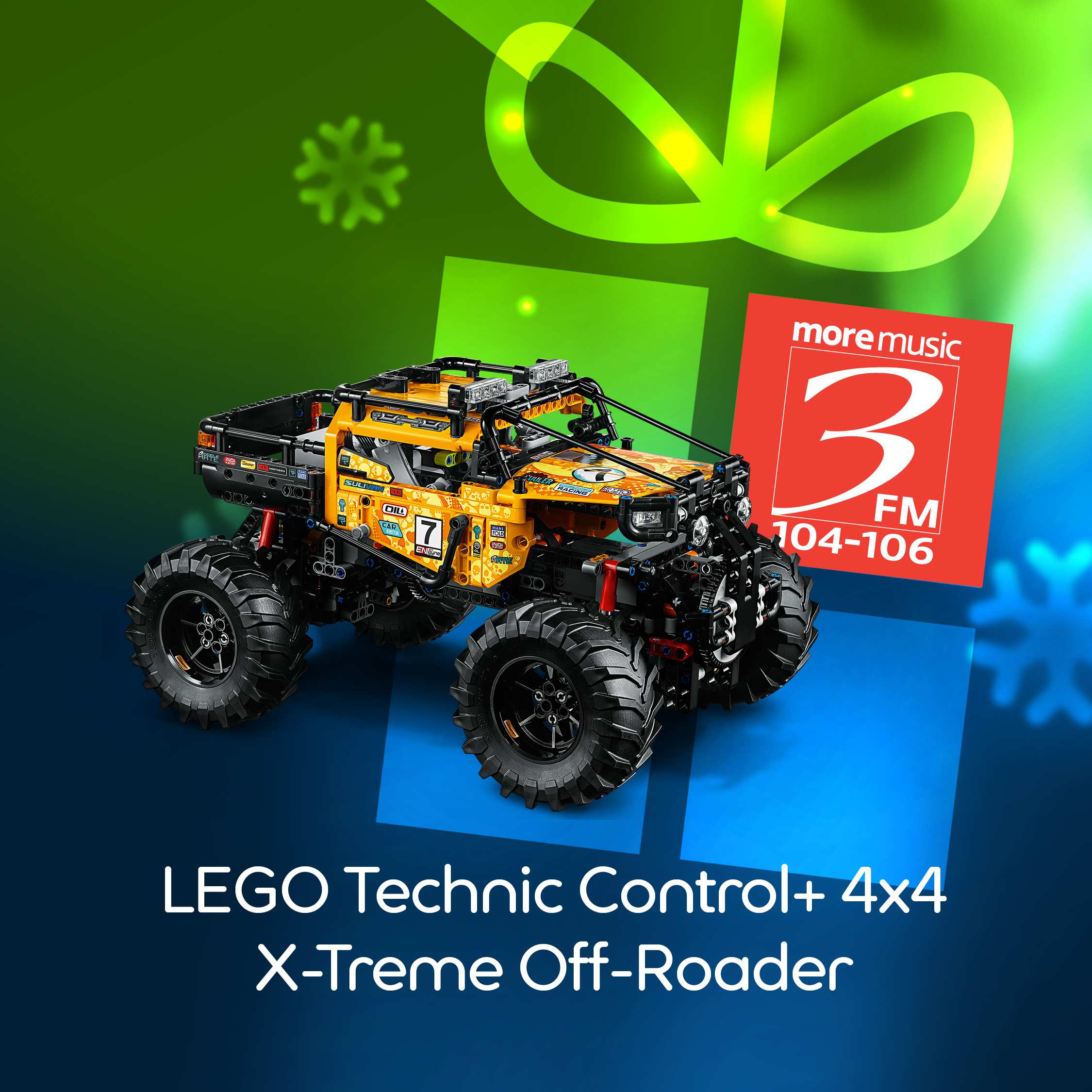 LEGO Technic Control+ 4x4 X-treme Off-Roader Set