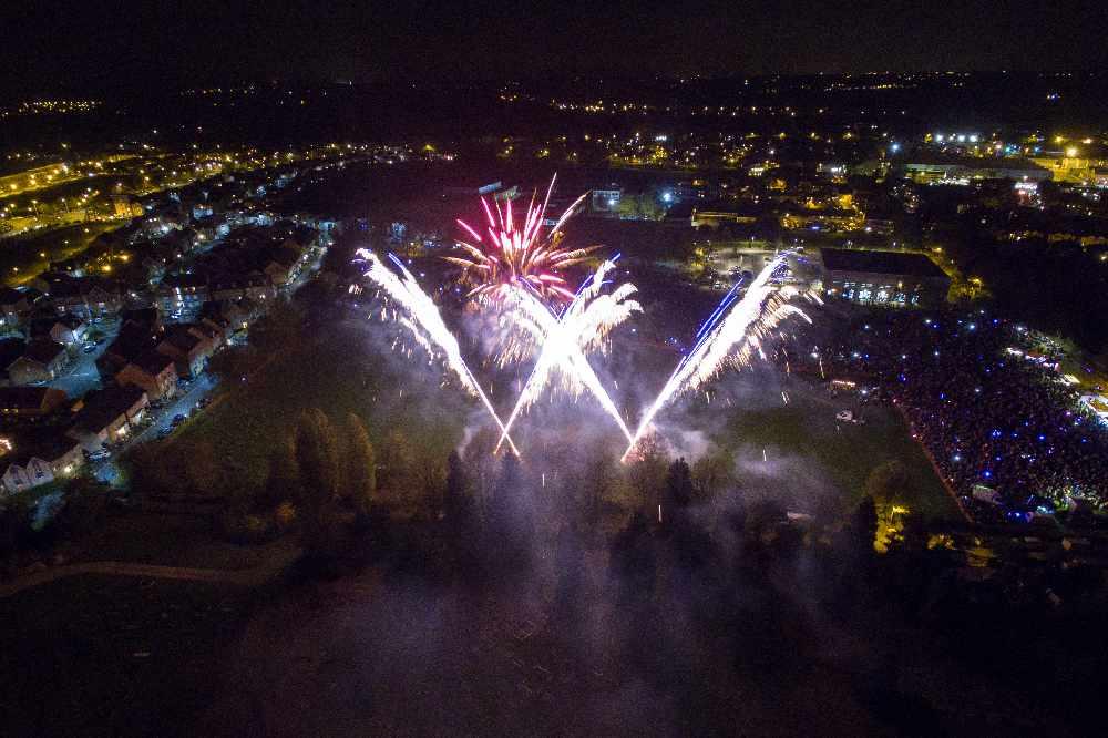 Milton fireworks today