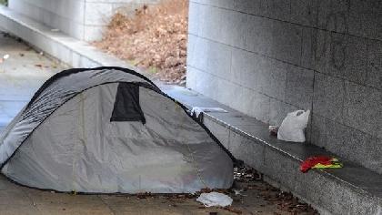 homeless mk