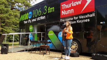 Amber Falconer MKFM Bus Music