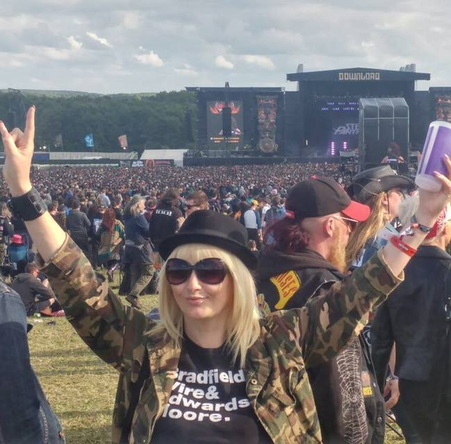 As well as covering local music, Vicki is MKFM's roving reporter at UK festivals too