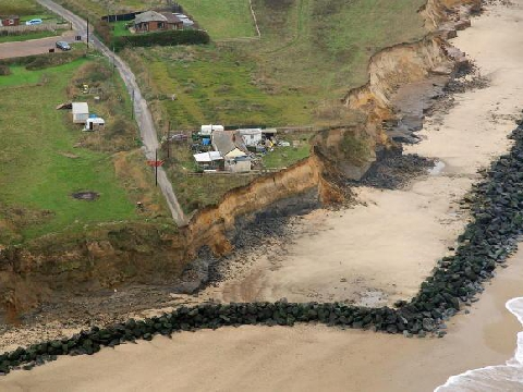 Happisburgh named as one of UK's climate change flashpoints - The ...