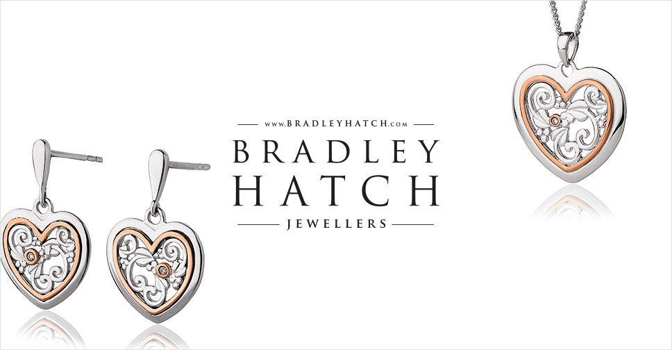 Bradly Hatch Jewellers Clogau pendant and earrings set Radio Norwich