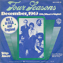 Frankie Valli & the Four Seasons - December 1963 (Oh What A Night)