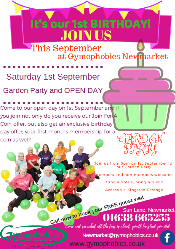 Gym Open Day and Anniversary Party - Star Radio