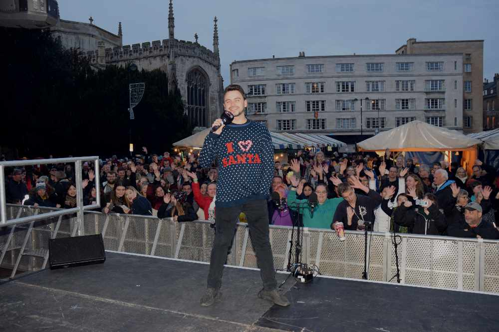 Josh Lovatt from Star Radio Breakfast hosted the festivities on stage with Daniel Fox from Star Radio drivetime.