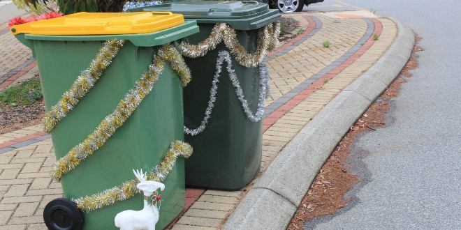 Changes to bin collection days over the Christmas period