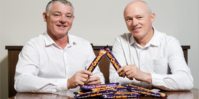 An Iconic South Aussie Choccie Brand Just Bought Violet Crumble From Nestlé