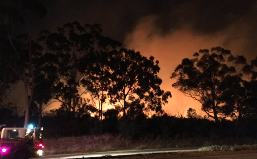 Kings Park Bushfire Closes City Roads