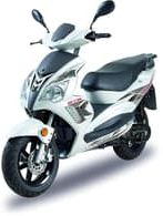 It is believed the stolen scooter is similar to the one pictured.