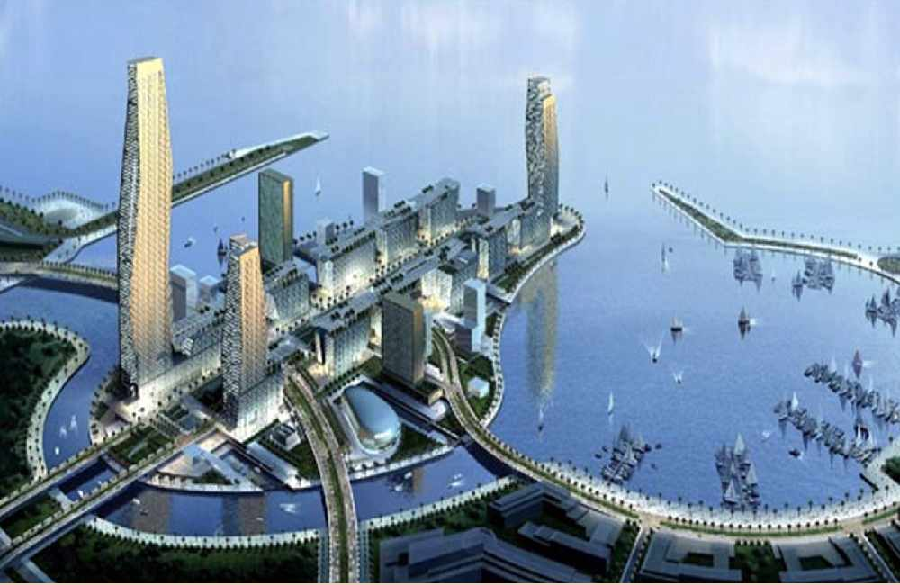 A rendered photo for plans of King Abdullah Economic City