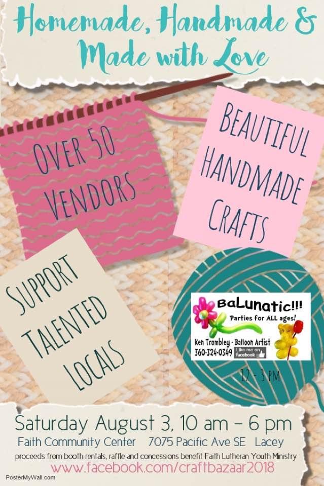 Handmade & Made with Love Craft Fair