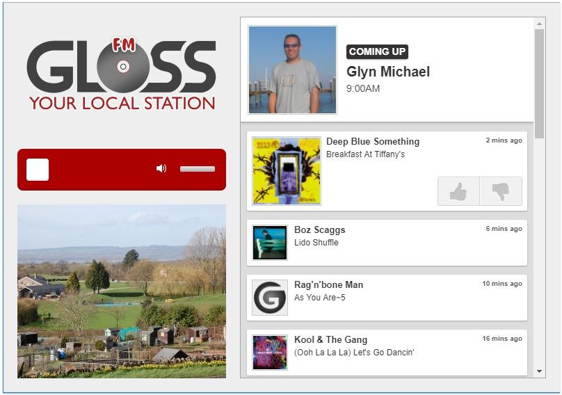 GLOSS FM player