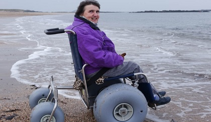 Beach Wheelchairs For St Andrews West Sands Kingdom Fm