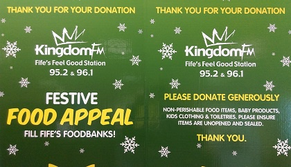 Appeal To Fill Fifes Foodbanks This Christmas Kingdom Fm
