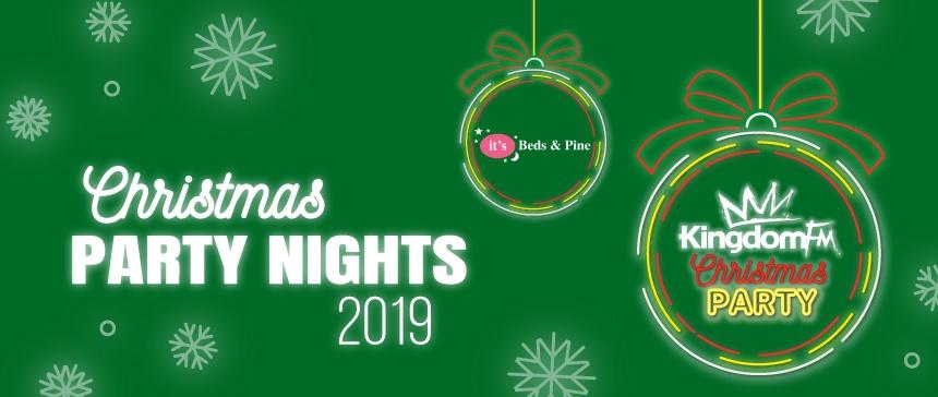 Christmas Party 2019 Logo.Christmas Party Nights 2019 Kingdom Fm