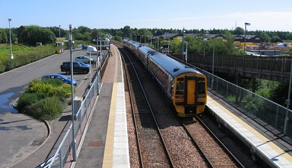 Fewer cancellations and delays for Fife train services, says