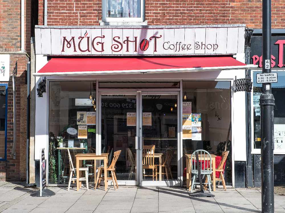 Mug Shot Coffee Shop In Fareham Running Competition For