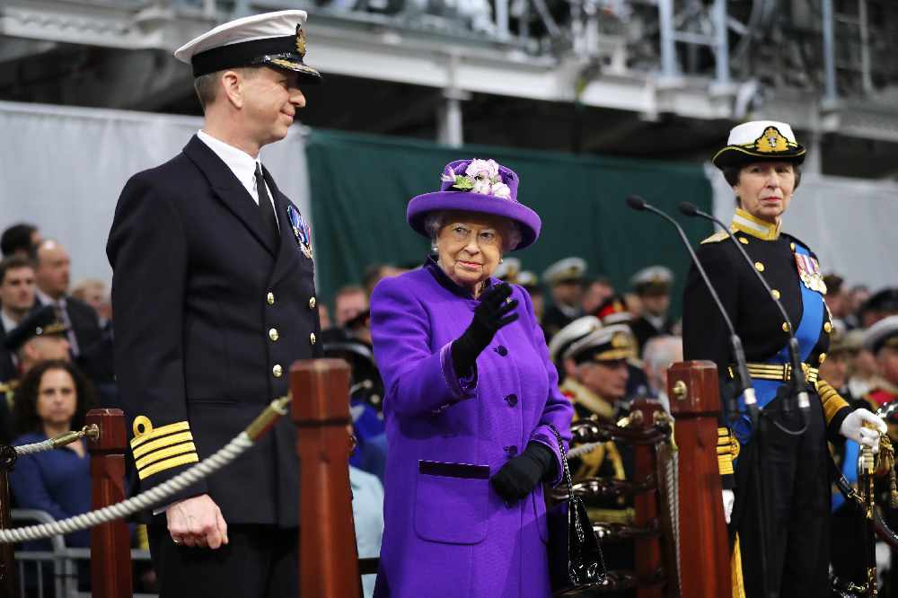 The Queen commissions new aircraft carrier - Express FM