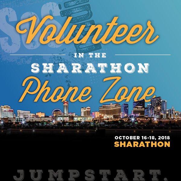 Volunteer at SOS Radio's Sharathon!