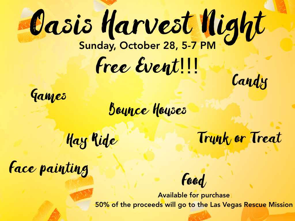 Oasis Harvest Night - Right Song  Right Time