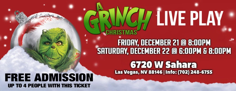 A Grinch Christmas Play Right Song Right Time