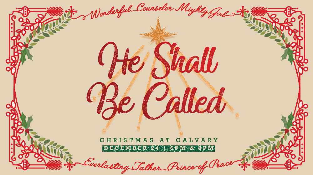 Christmas Eve At Calvary Chapel Las Vegas Right Song Right Time