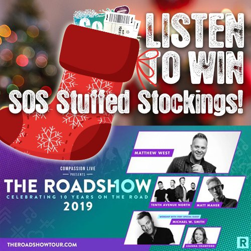 SOS Radio Christmas Stockings - Roadshow 2019