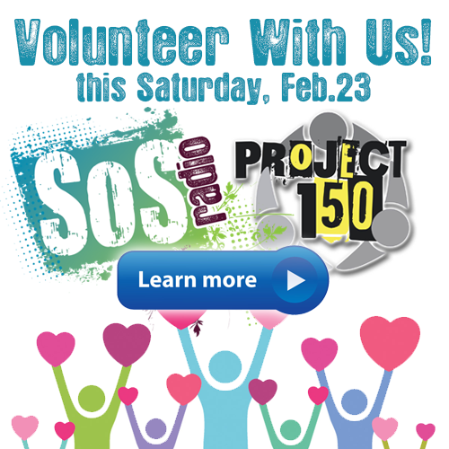 Volunteer with SOS Radio and Project 150!