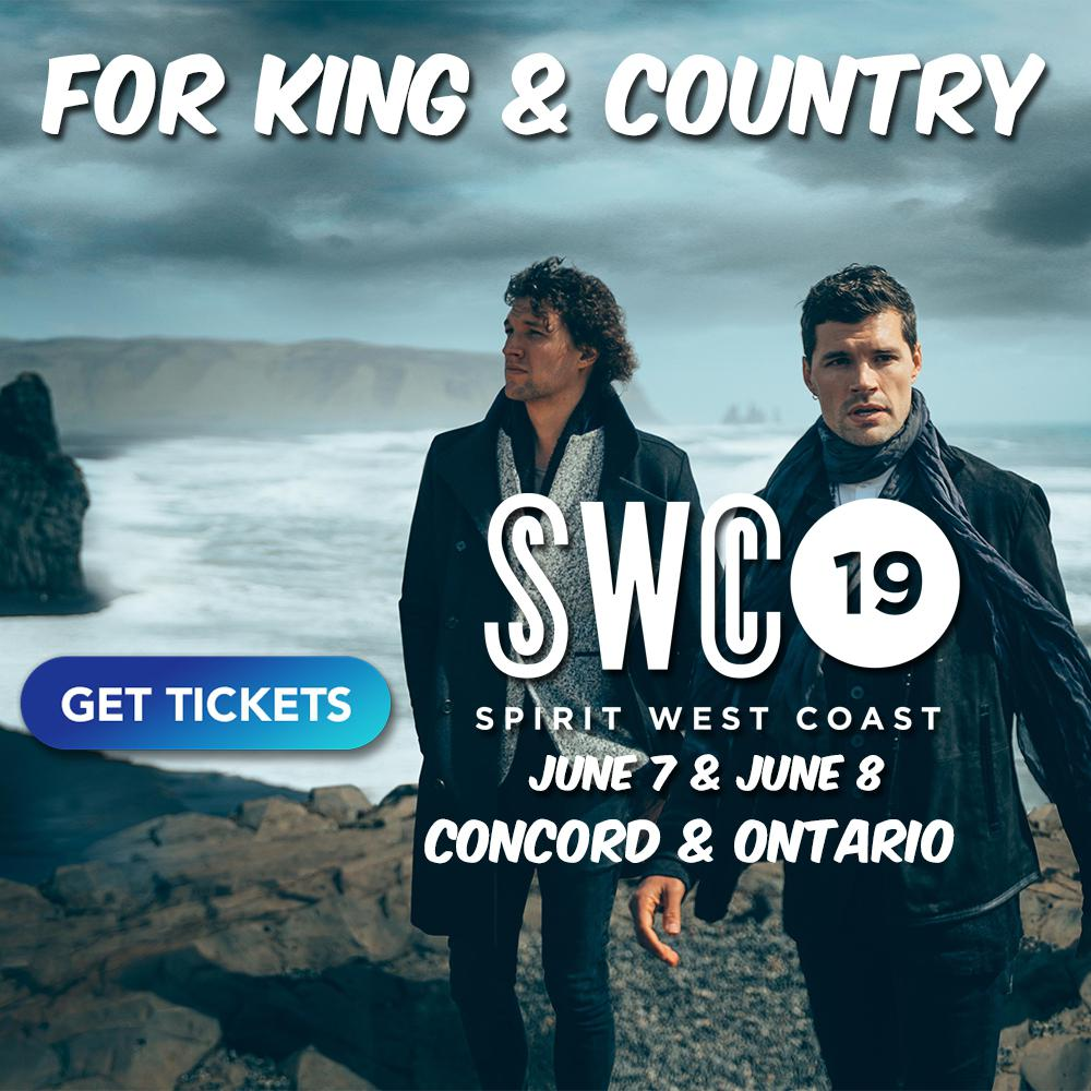 For King & Country Concert 2019 - CA - Spirit West Coast