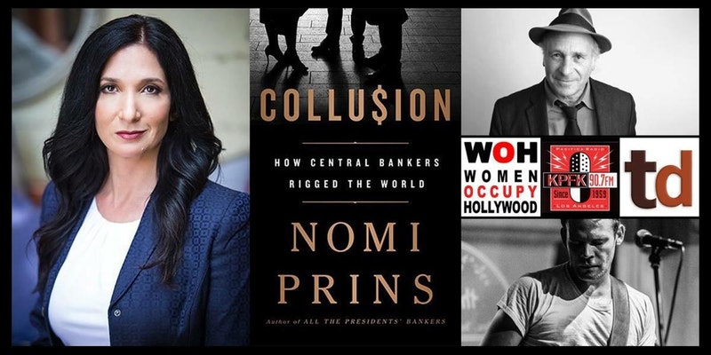 KPFK Presents an Evening with Nomi Prins