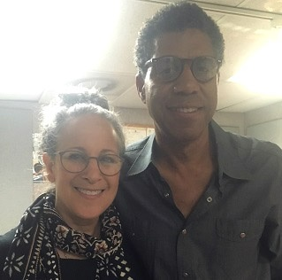 Kevin Lincoln with Gina Belafonte