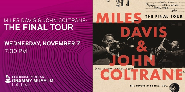 Grammy Museum Miles and Coltrane event