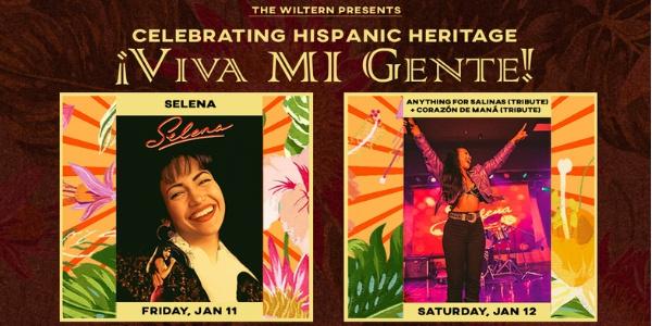 Viva Mi Gente! - Selena Movie Night 1-11 and Anything for Salinas 1-12 at the Wiltern