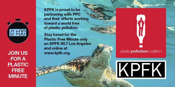 Plastic Pollution Minute banner