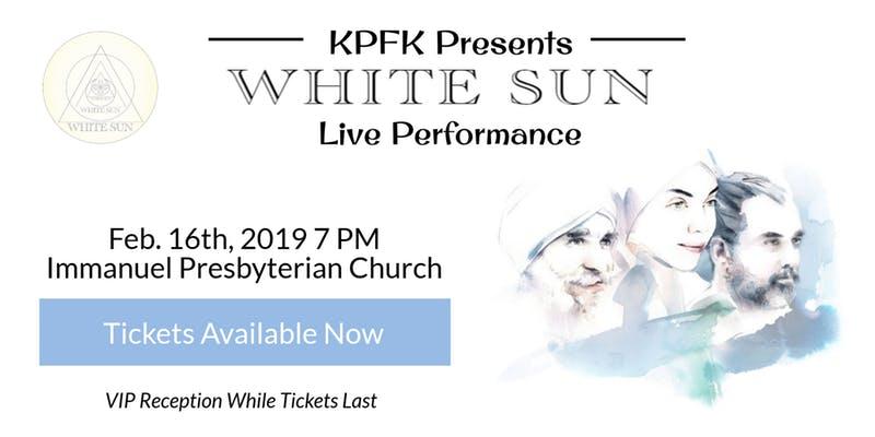 White Sun Concert