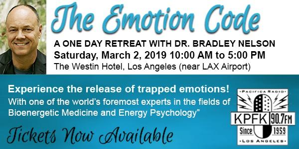 KPFK Presents: The Emotion Code One Day Retreat