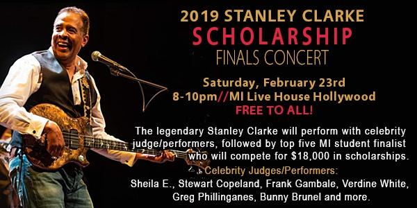 Stanley Clarke Scholarship Fund event