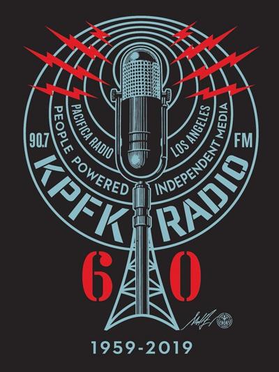 KPFK 60th Anniversary Logo