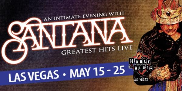 Santana in Vegas May 2019