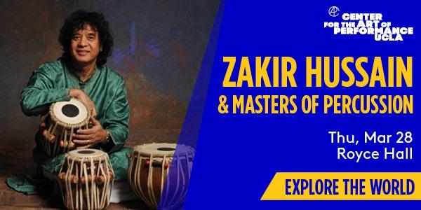 Zakir Hussain CAP UCLA