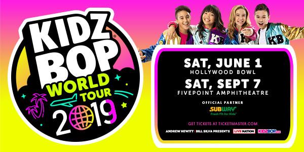 Kidz Bop World Tour 2019 - KPFK 90 7 FM