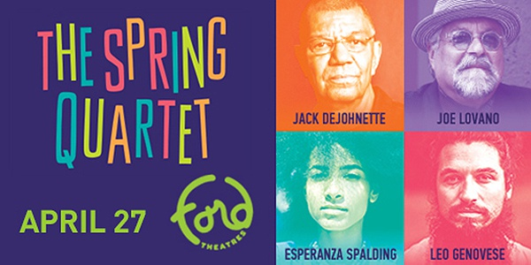 Spring Quartet at the Ford April 27 2019