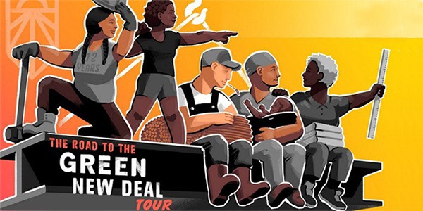 Sunshine Movement Event - The Green New Deal Tour