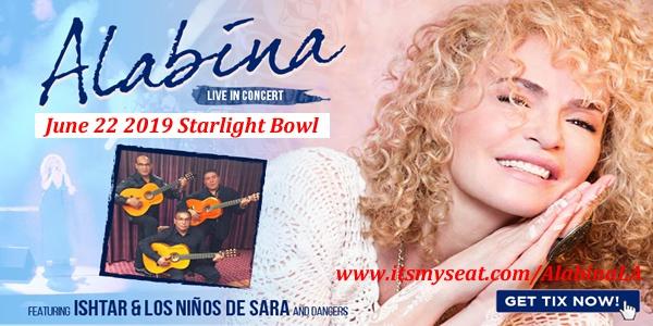 Alabina live at the Starlight Bowl