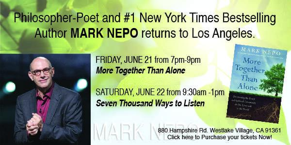 Mark Nepo Event