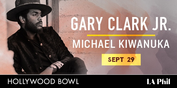 Gary Clark Jr. live at the Hollywood Bowl
